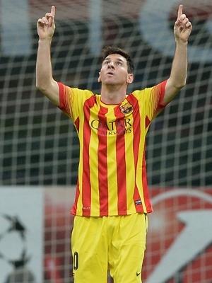 Messi igualou a partida no San Siro. (Foto: Getty)