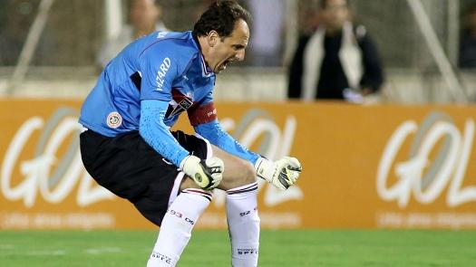 Rogério Ceni comemora gol de penalti. (Foto: Gazeta Press)