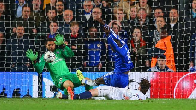 Bemba Bá fez o gol da classificação do Chelsea. (Foto: Getty Images)