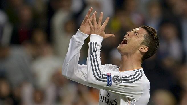 Cristiano Ronaldo lamenta chance perdida. (Foto: Getty / AFP)