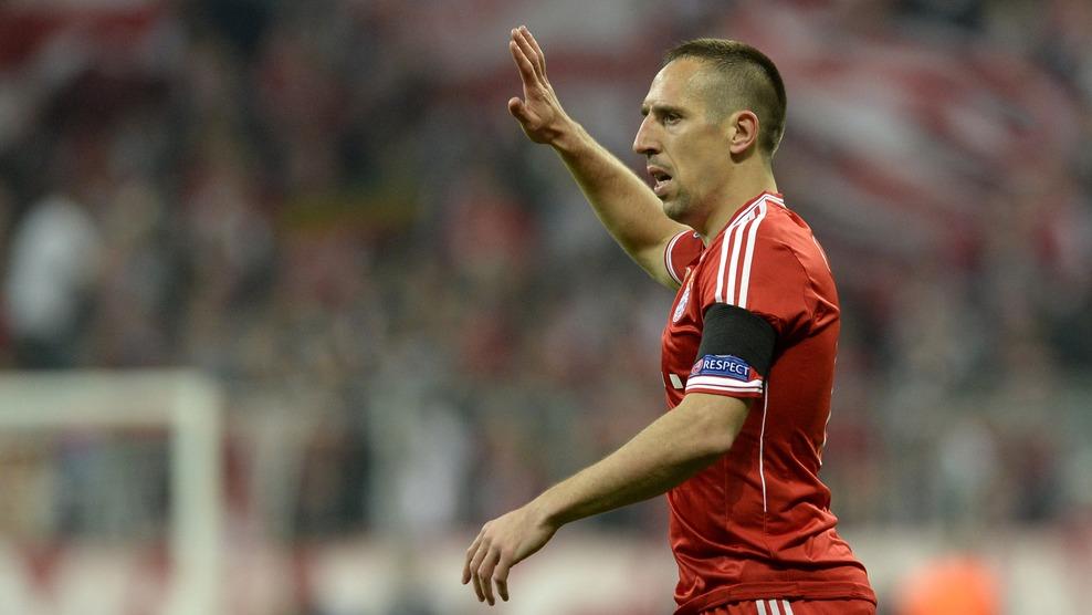 Apagado Ribery cometeu ato de violência sobre Carvajal. (Foto: Getty)