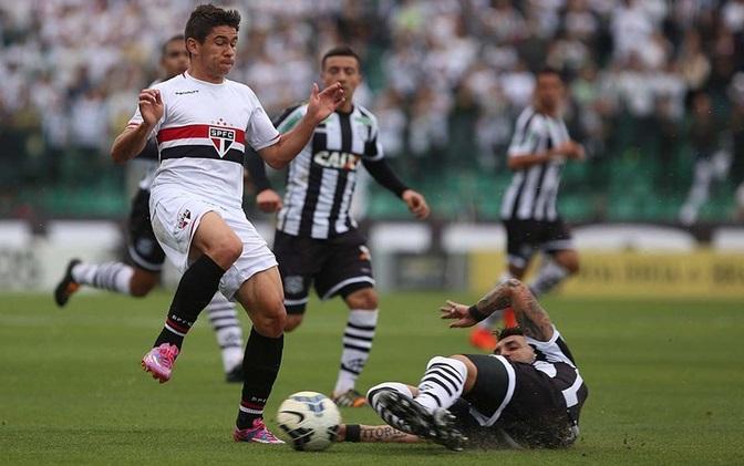 Marquinhos fez grande atuação pelo Figueirense. (Rubens Chiri SPFC)
