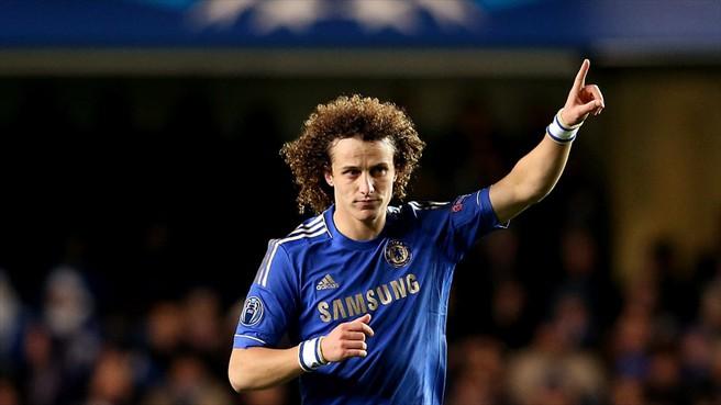 3d03dc13e14d3 Davi Luis Comemora o primeiro seu no Chelsea contra o Nordjaellands. (Foto   Getty Images)