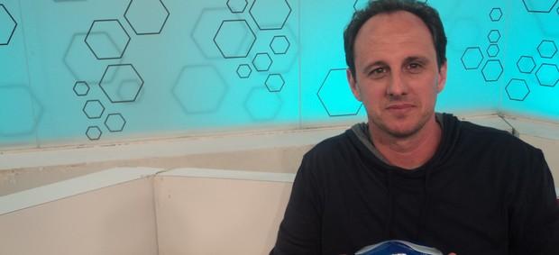 Rogério Ceni em entrevista ao programa Bem amigos da Sportv. (Foto: Thiago Braga/Sportv.com)
