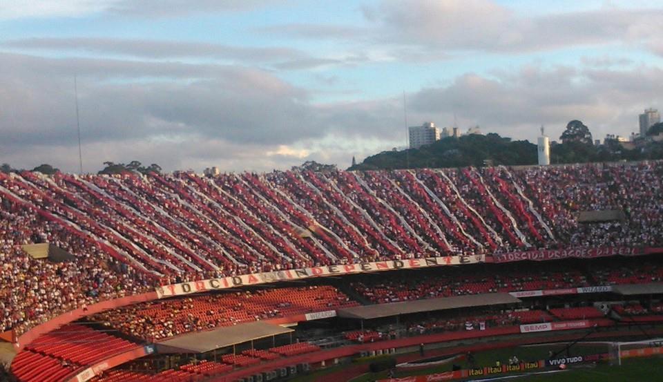 Mais de 31 torcedores estiveram no Morumbi para ver a goleada Tricolor. (Foto: Glória Stefani Delazari)