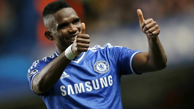 Etoo abriu o marcador para o Chelsea. (Foto: Getty)