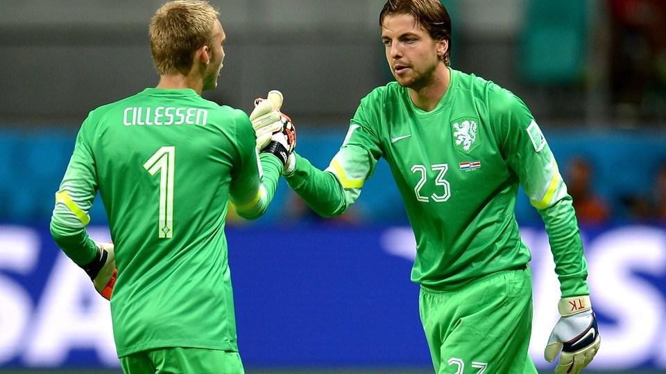 A troca de Krul no lugar de Cillessen fez diferença a favor da Holanda. (Foto: Getty).