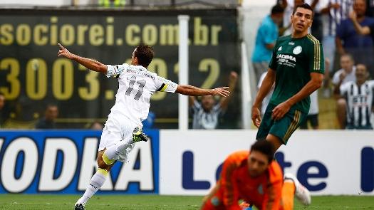 Thiago Ribeiro comemora gol. (Foto: Gazeta Press)