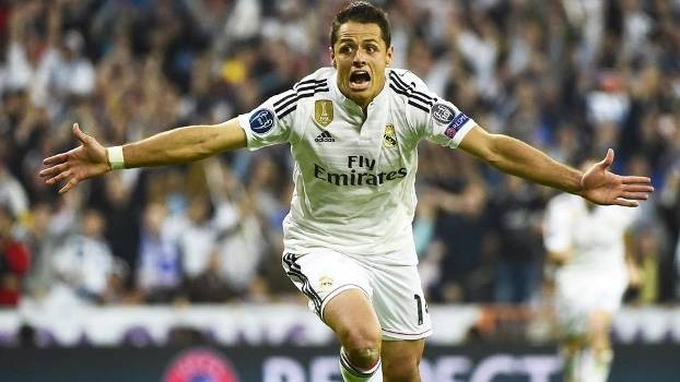 Chicharito teve sua chance e garantiu o Real na semifinal da Champions League. (Foto: Getty Images)