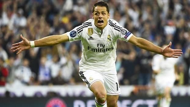Chicharito teve sua chance e garantiu o Real na semifinal da Champions League. (Foto: Getty Images)