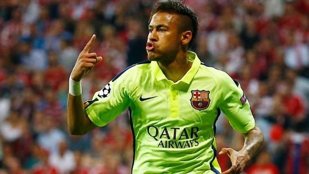 Neymar vira a partir após mais uma assistência de Luis Soares. (Foto: Getty)
