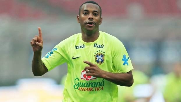Robinho volta a seleção de Dunga. (Foto: Gazeta Press)