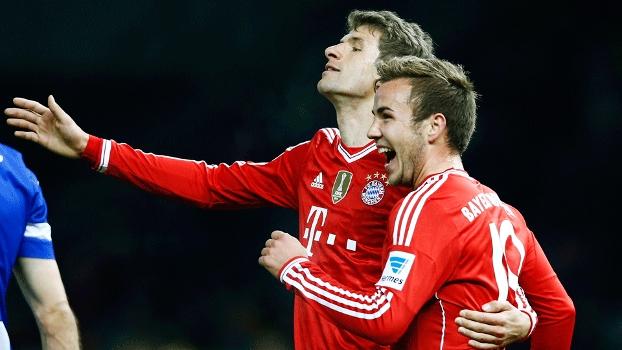 Kroos comemora gol com Gotzen. (Foto: Getty)