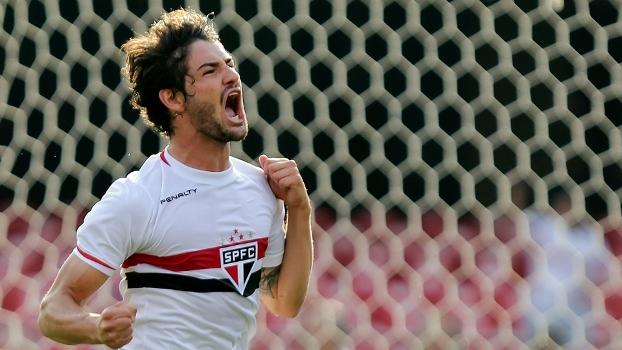 Pato fez 7 gols no campeonato brasileiro até a 19ª rodada do brasileirão. (Foto: Gazeta Press).