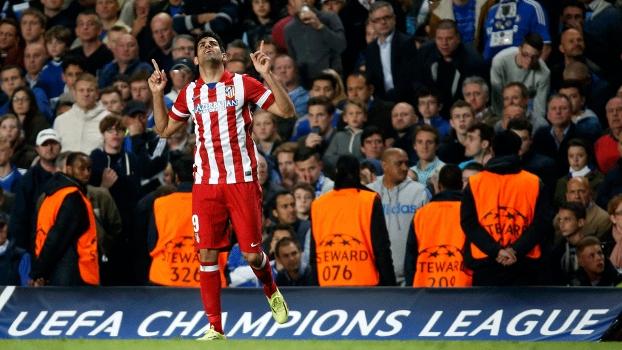 Diego Costa fez seu oitavo gol na Champions. (Foto: Getty)