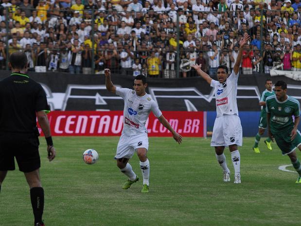 Com o triunfo ABC deixa o zona da degola. Foto: Rodrigo Sena / Vipcomm