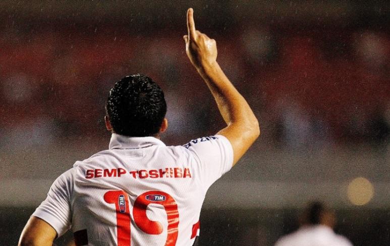 Boi Bandido fez o primeiro gol do jogo logo aos 3 minutos de jogo (Foto: Reinaldo Canato/UOL)