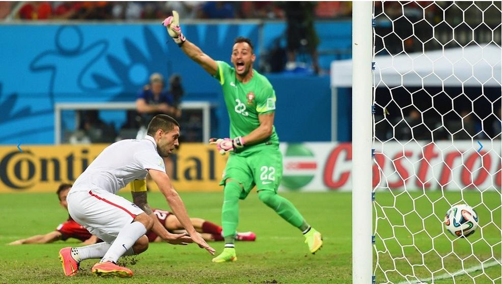 Dempsey fez o segundo dos EUA contra Portugal. (Foto: Getty)