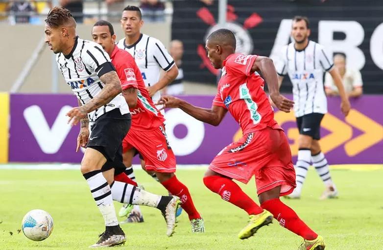 Guerrero foi um dos destaques da partida diante do Capivariano. (Foto: Celio Messias)