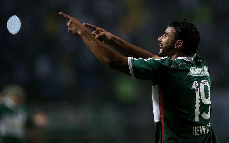 Henrique voltou a marcar  pelo Verdão Foto: Friedemann Vogel / Getty Images