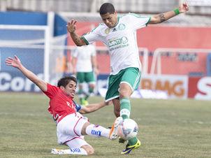 Leandro marcou o gol de empate do verdão. Foto: Felipe Gabriel / LANCE!Press