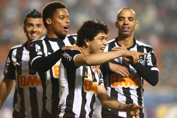 Luan saiu do banco para dar a vitória ao Galo. Foto: Marcos Bezerra / Futura Press