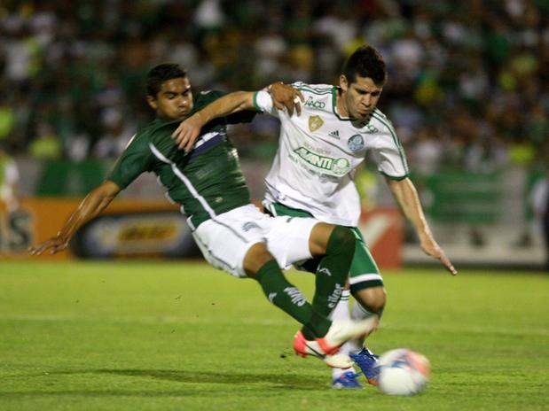 Marcelo Oliveira falhou no lance do gol. Foto: Futura Press