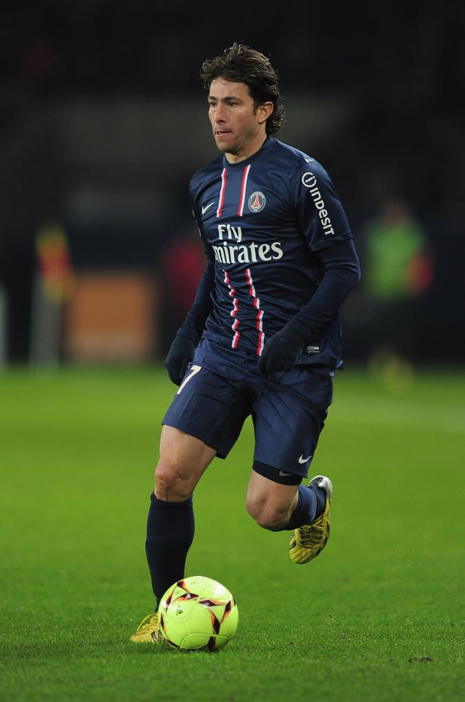 Lateral-esquerdo Maxwell do Paris Saint Germain é a novidada da lista. Foto: Zimbio.com
