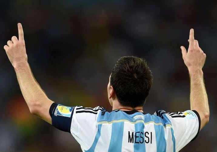 Lionel Messi foi um dos personagens do jogo. Foto: Getty Imagens