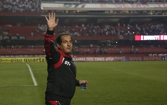 Muricy conquistou sua vitória de nº 198 e se igualou a Telê Santana. (Foto: Rubens Chiri/saopaulofc.net)