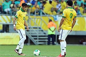 Neymar e Fred tiveram participação decisiva no confronto. Foto: UOL