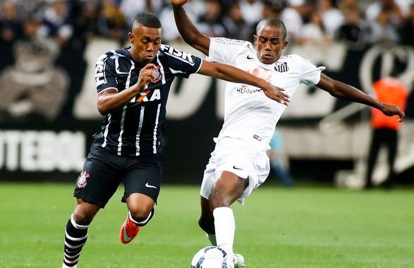O Santos teve dificuldades para criar neste domingo na Arena Corinthians. (Foto: Getty Images)