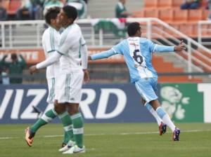Pablo comemora o primeiro gol do Papão, Foto: Roberto Vazquez / Futura Press