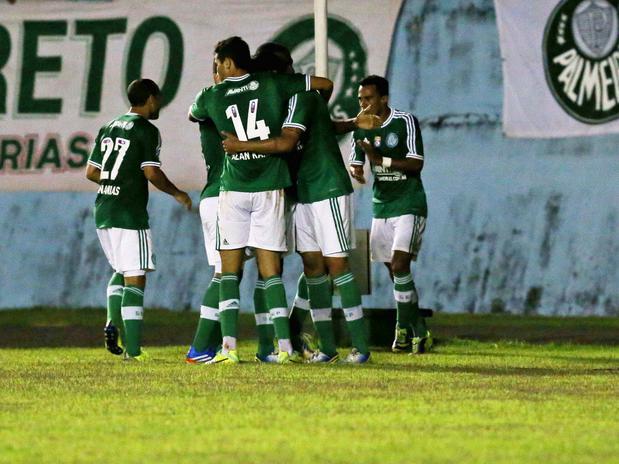 Palmeiras se despede de Londina com vitória. Foto: Edno Luan / Futura Press