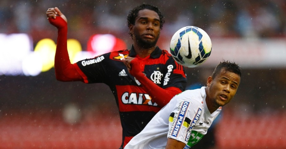 Santos e Flamengo fazem partida para esquecer n Morumbi. (Foto: Ricardo Saibun/AGIF)