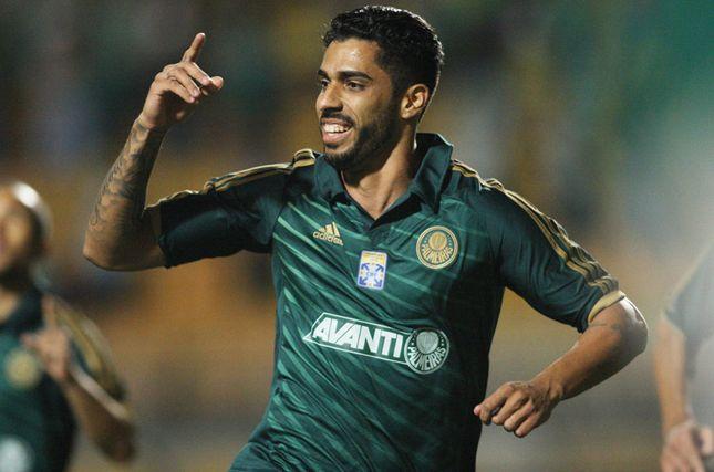 Vilson marcou o gol da vitória palmeirense. Foto: Eduardo Viana / LANCEPress