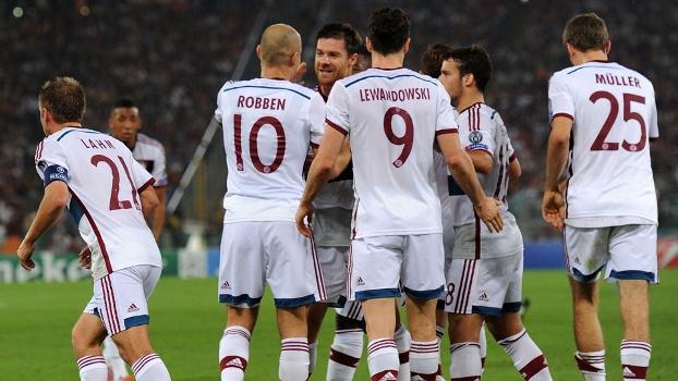 Mais um 7 a 1 de alemães sobre adversário em 2014 show do Bayern de Munique. (Foto: Reuters)