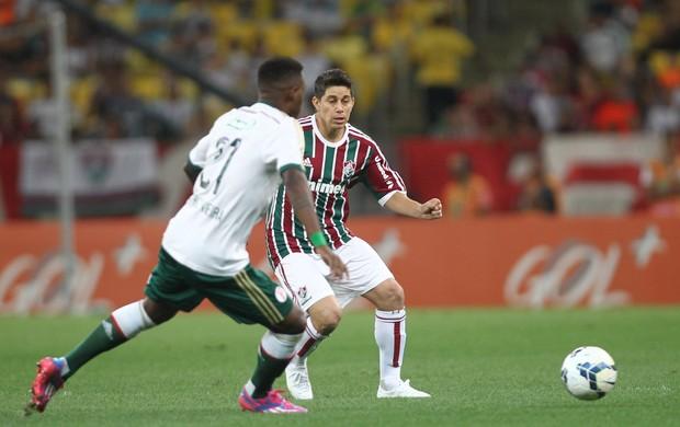 Conca teve boa participação na partida e marcou o 3º do Fluminense (Foto: Matheus Andrade/Photocamera)