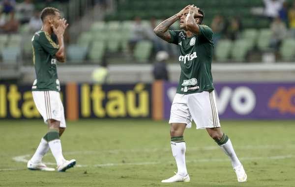 Dudu lamenta primeira derrota pelo Verdão. Foto: Miguel Schincariol / Gazeta