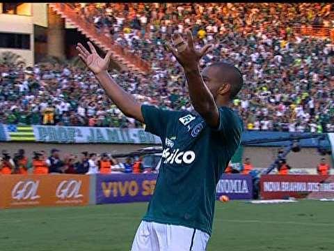 Rodrigo fez o gol da vitória do Goiás. (Foto: Reprodução)