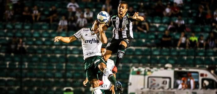 Figueirense e Palmeiras duelaram no Orlando Scarpelli (Foto: Thiago Pedro - Agência Estado)