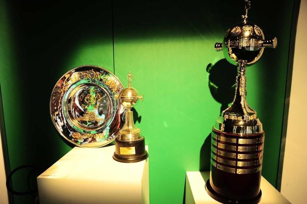 Taça do Título da Libertadores em 1999. (Foto: MArcos Riboli)
