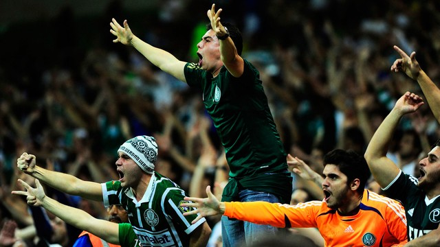 Torcida Palmeirense pode enfim comemorar uma vitória em clássico desde 2013. (Foto: Reprodução).
