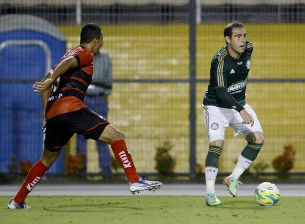 Bruno Cesar fez sua estreia com a camisa do Palmeiras.(Foto: Ricardo Matsukawa / Terra)